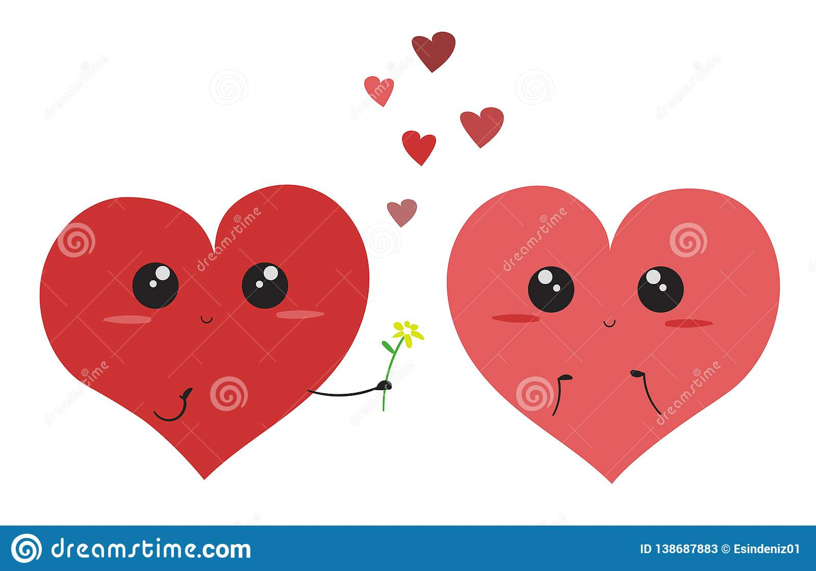 Fun Cheap Heart Figures Background Wallpaper Valentines