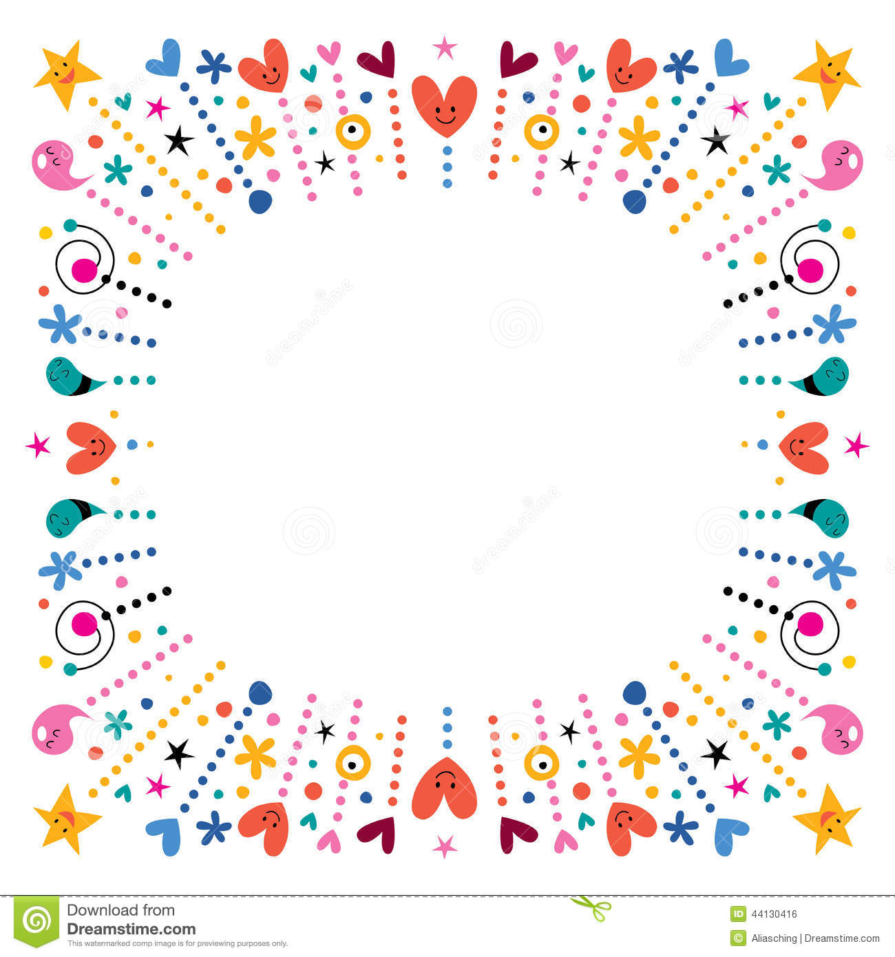 fun frame stock vector image 44130416 lined notebook paper clipart lined writing paper clipart