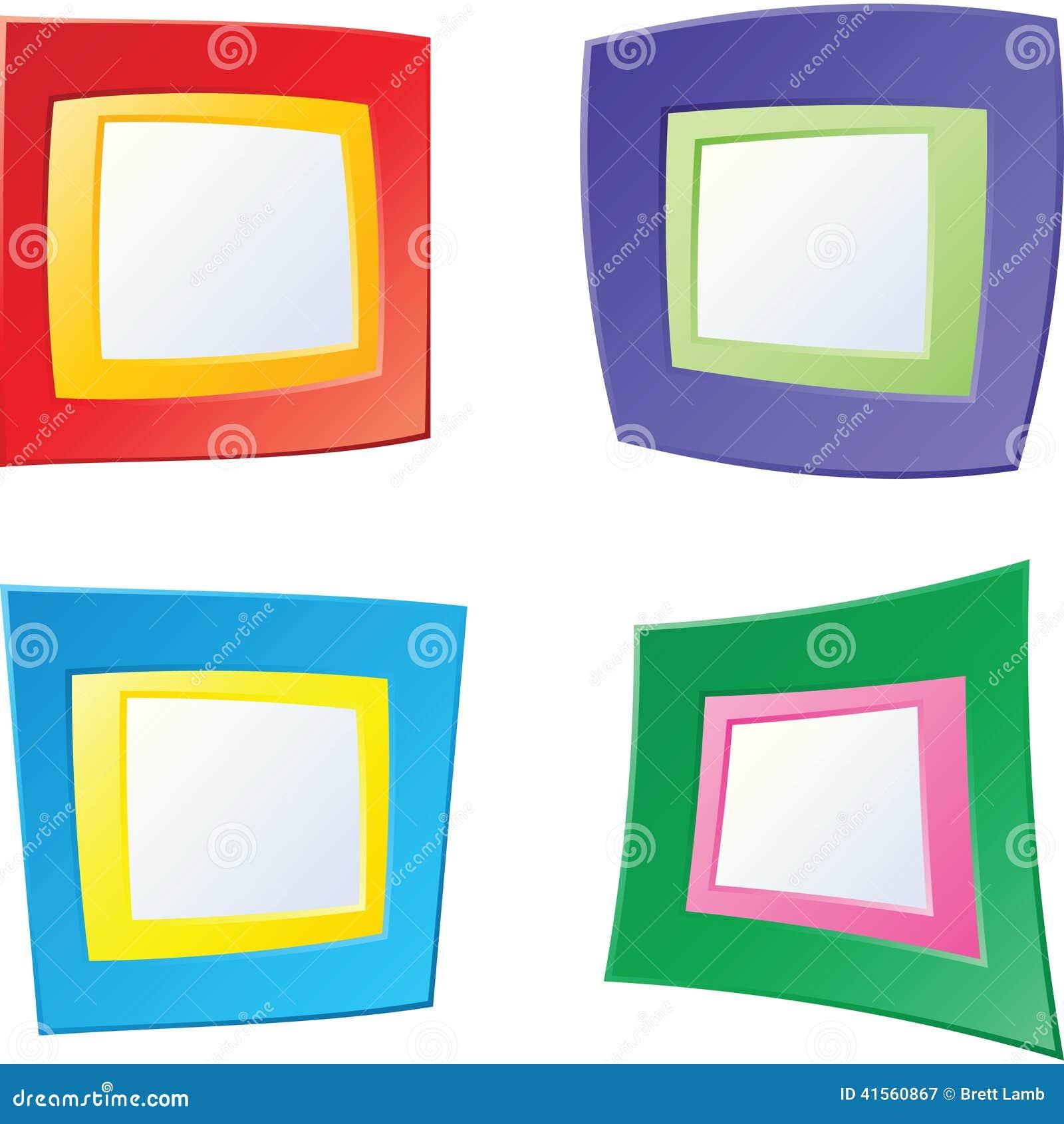 Fun Frames stock illustration. Illustration of decoration - 41560867