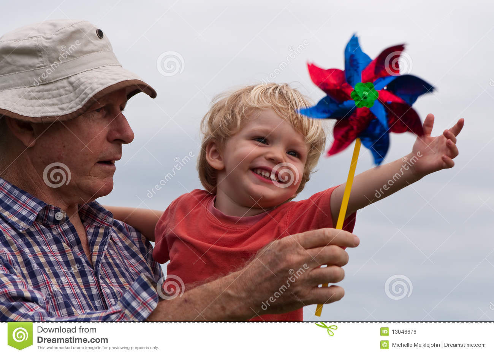 Fun with grandpa