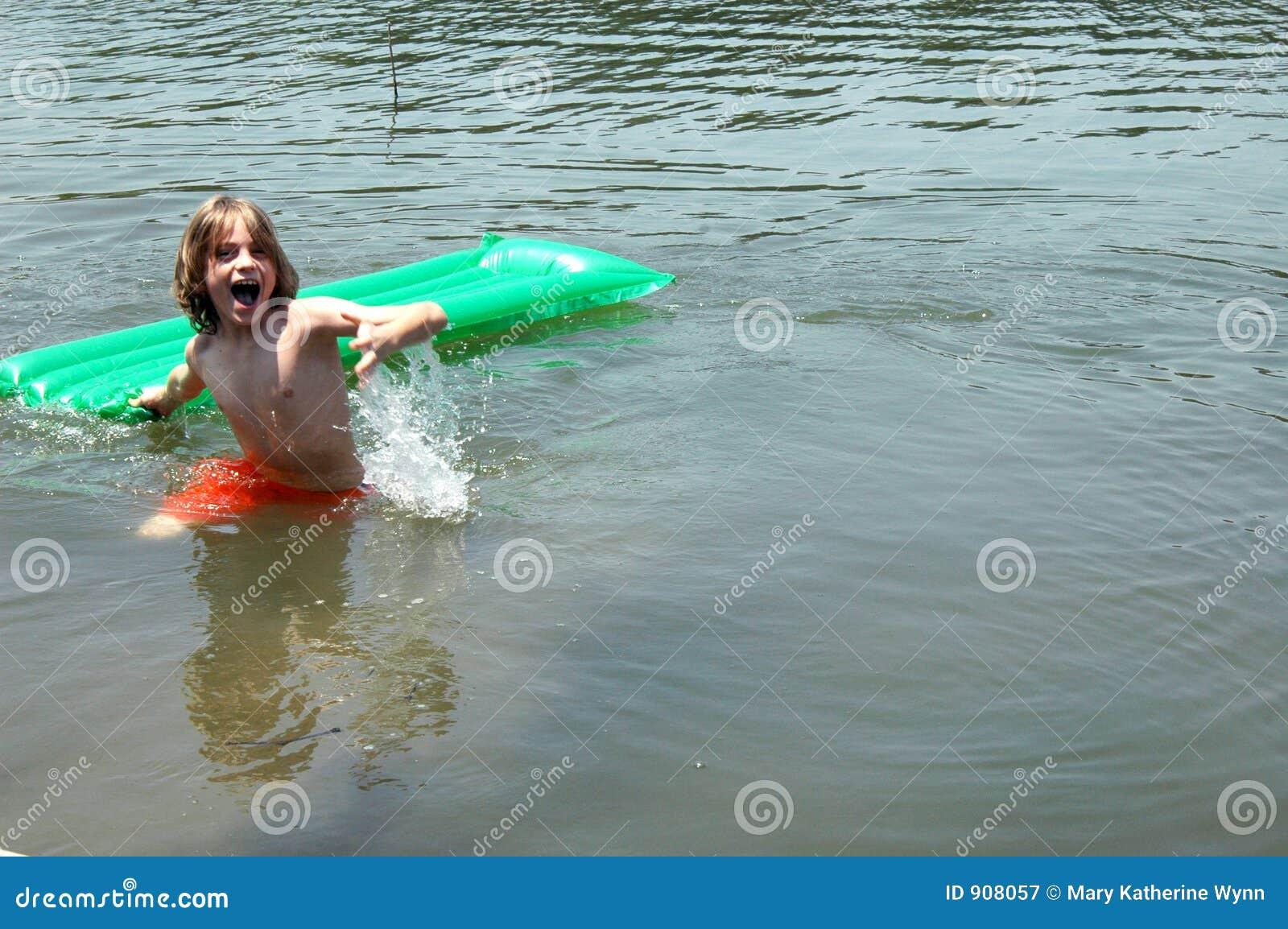 Fun in Lake