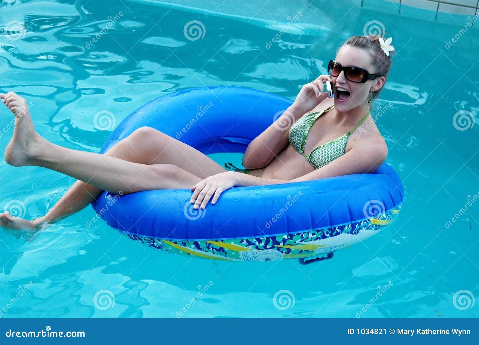 Fun pool chat