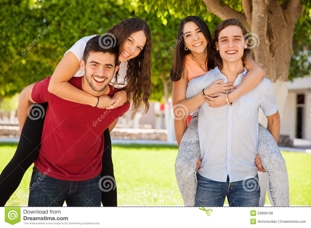 Fun Times In College Stock Photo - Image 53808108-5393