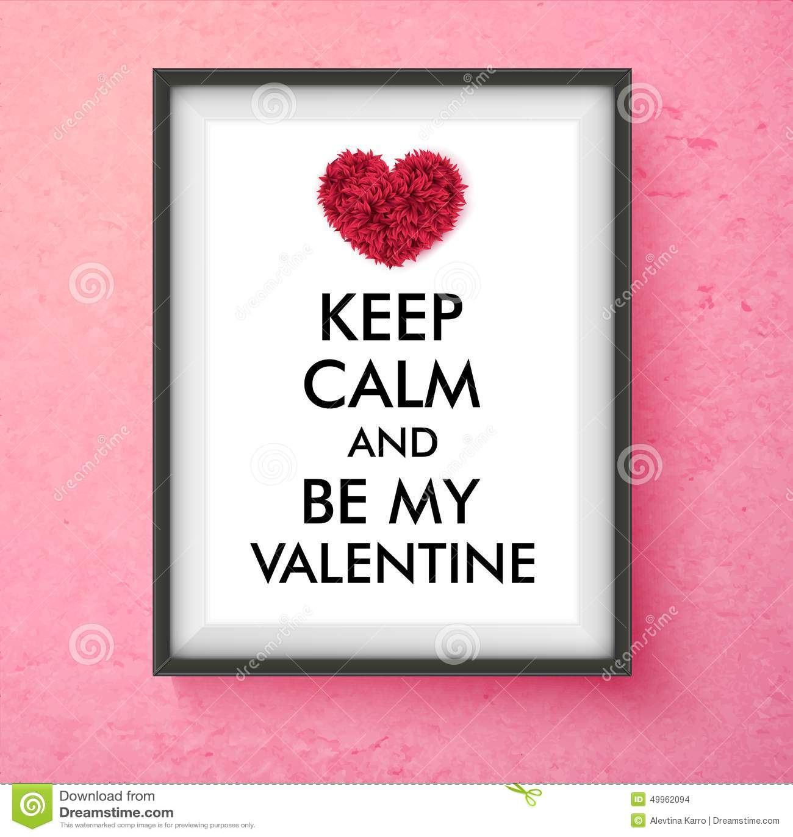 Fun Valentines Day vector card design