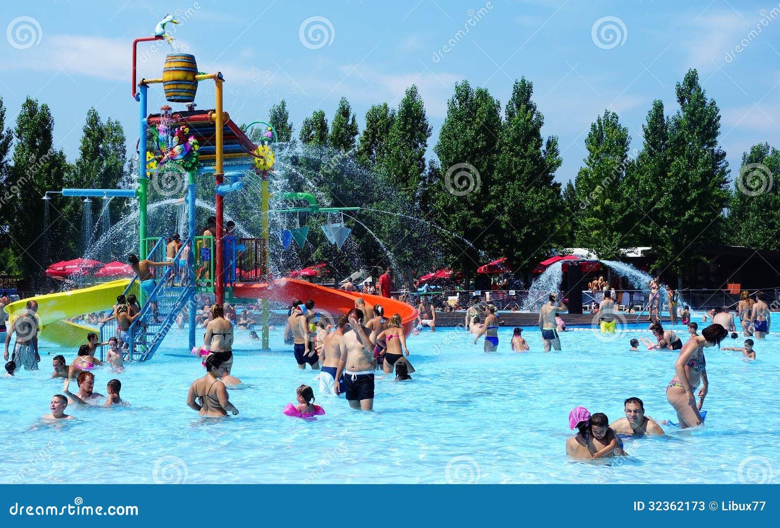 Fun At Water Park Editorial Stock Photo Image Of Waterpark 32362173