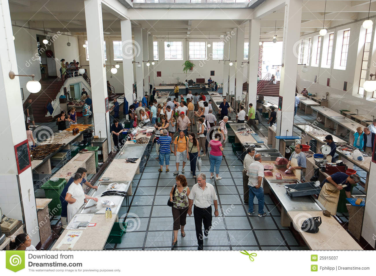 Funchal Fish Market, Madeira Editorial Photography - Image: 25915037