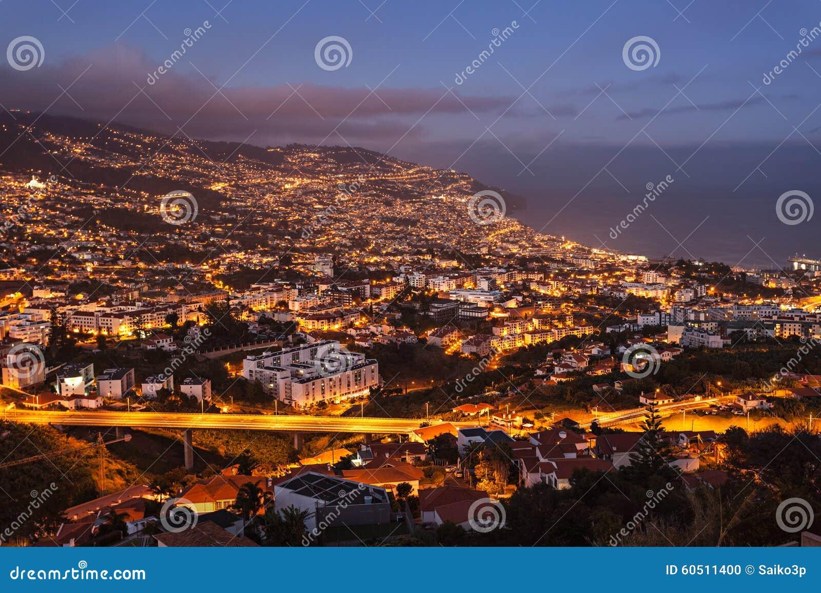Funchal-Vogelperspektive
