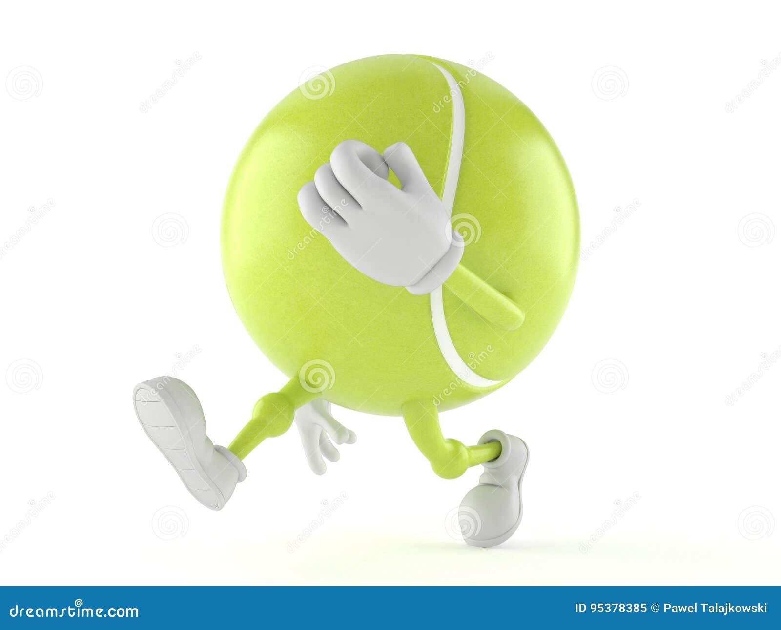 Tenis pelota stock de ilustracion ilustracion libre de stock de - Funcionamiento Del Car Cter De La Pelota De Tenis