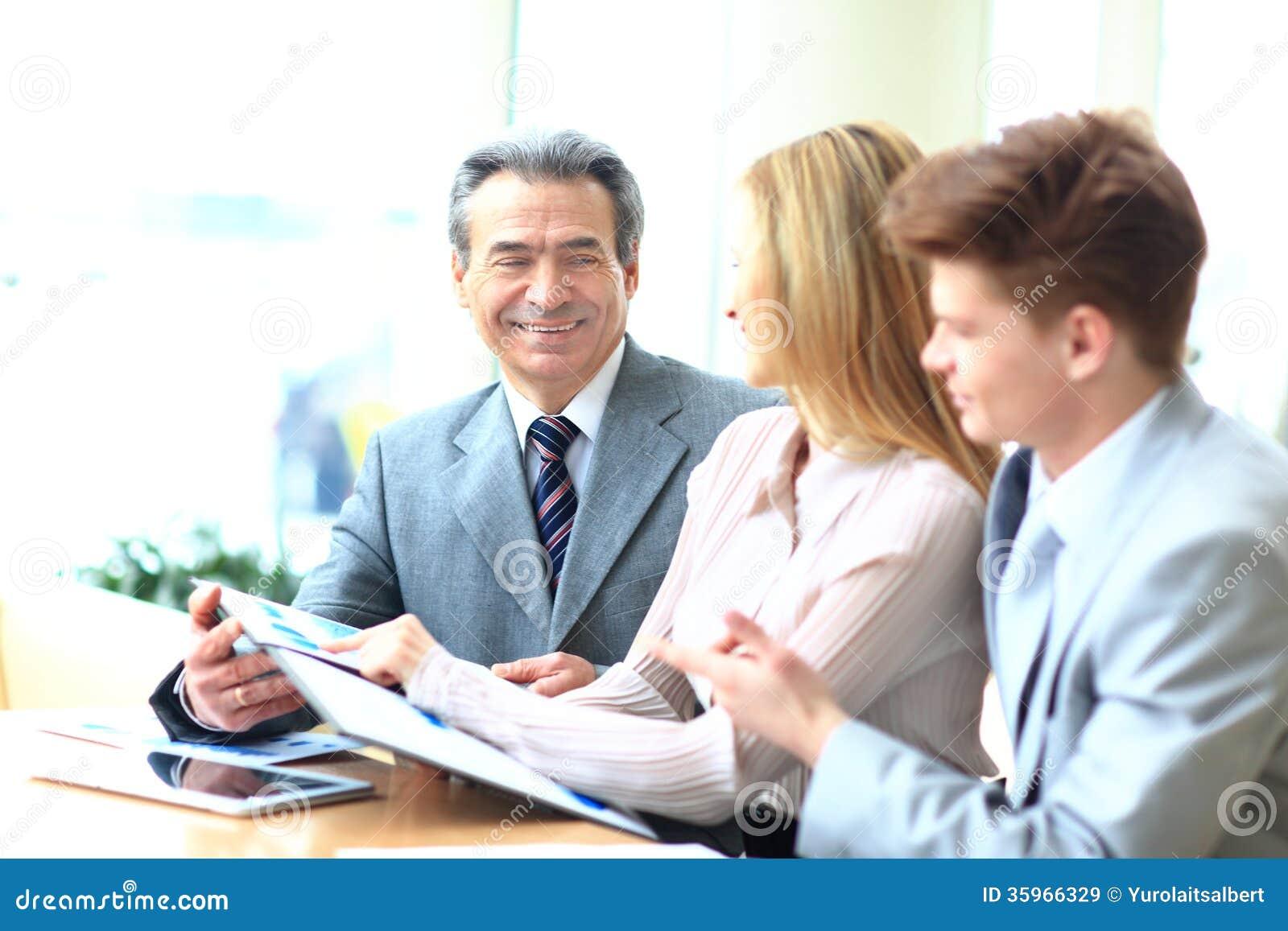 Funcionamiento del equipo del negocio