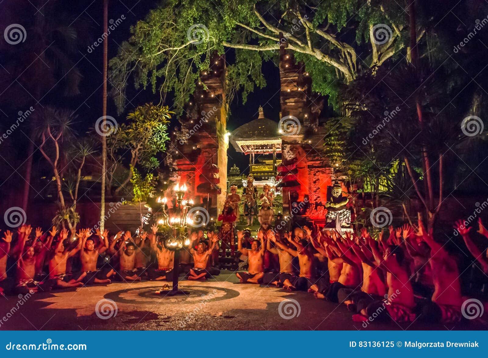 Funcionamiento tradicional de la danza del balinese