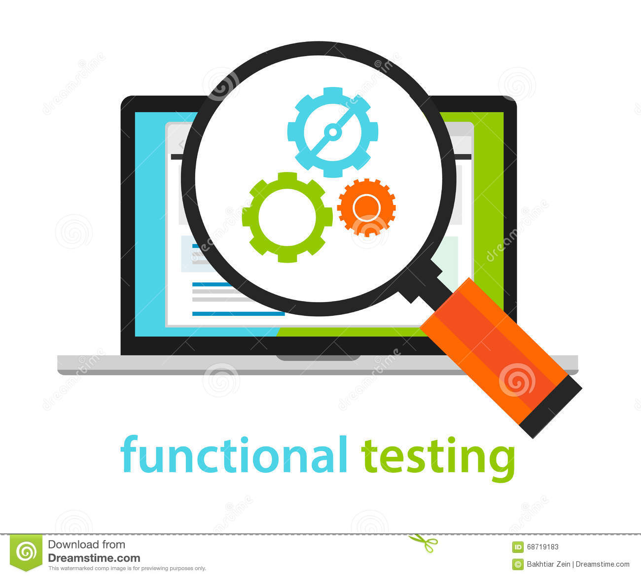 Functional testing software development process methodology