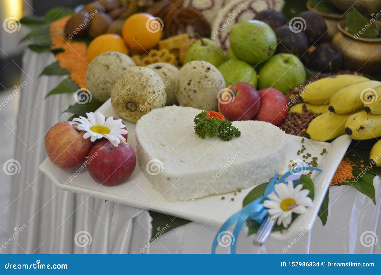 Functionele tropische fruitregeling