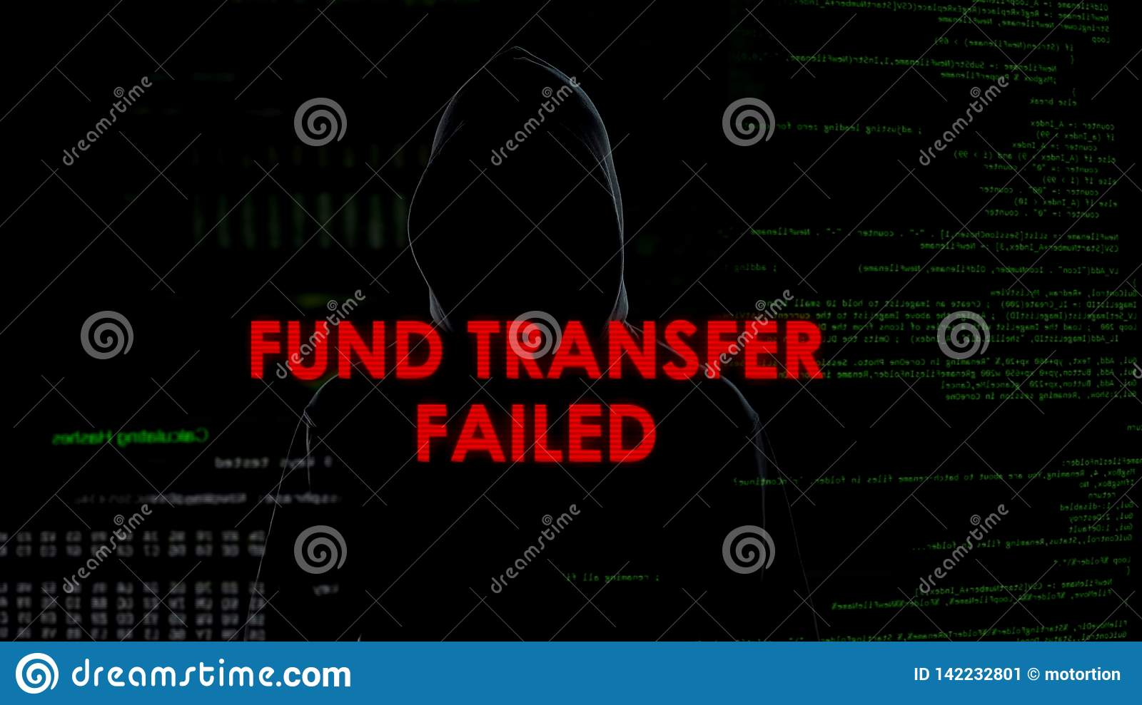 Fund Transfer Failed, Unsuccessful Attempt To Steal Money From Bank