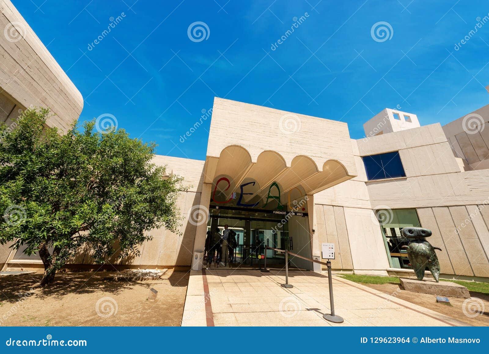 Fundacio Joan Miro - museo a Barcellona Spagna