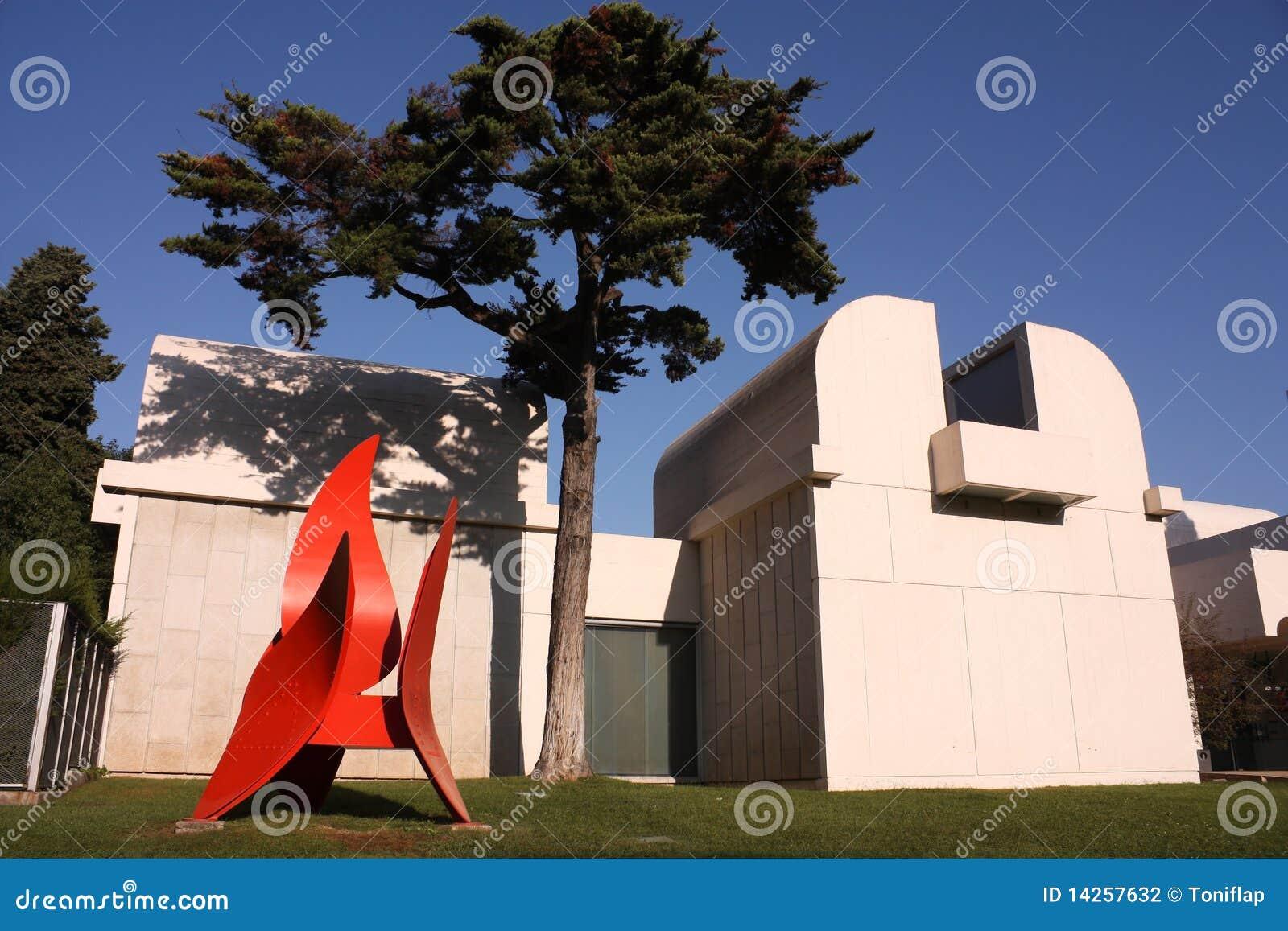 Fundacyjny Joan miro muzeum