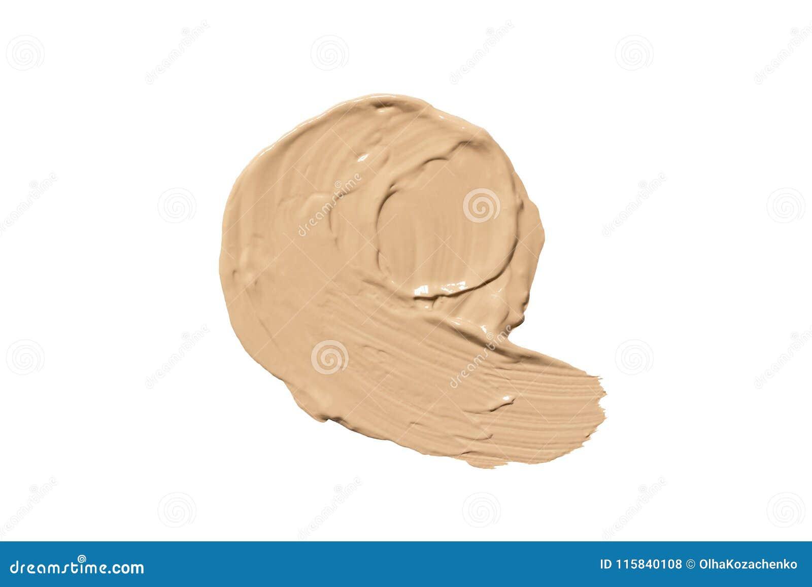 Fundament för framsida Fläck av CC-kräm eller BBkräm Sminkprodukt