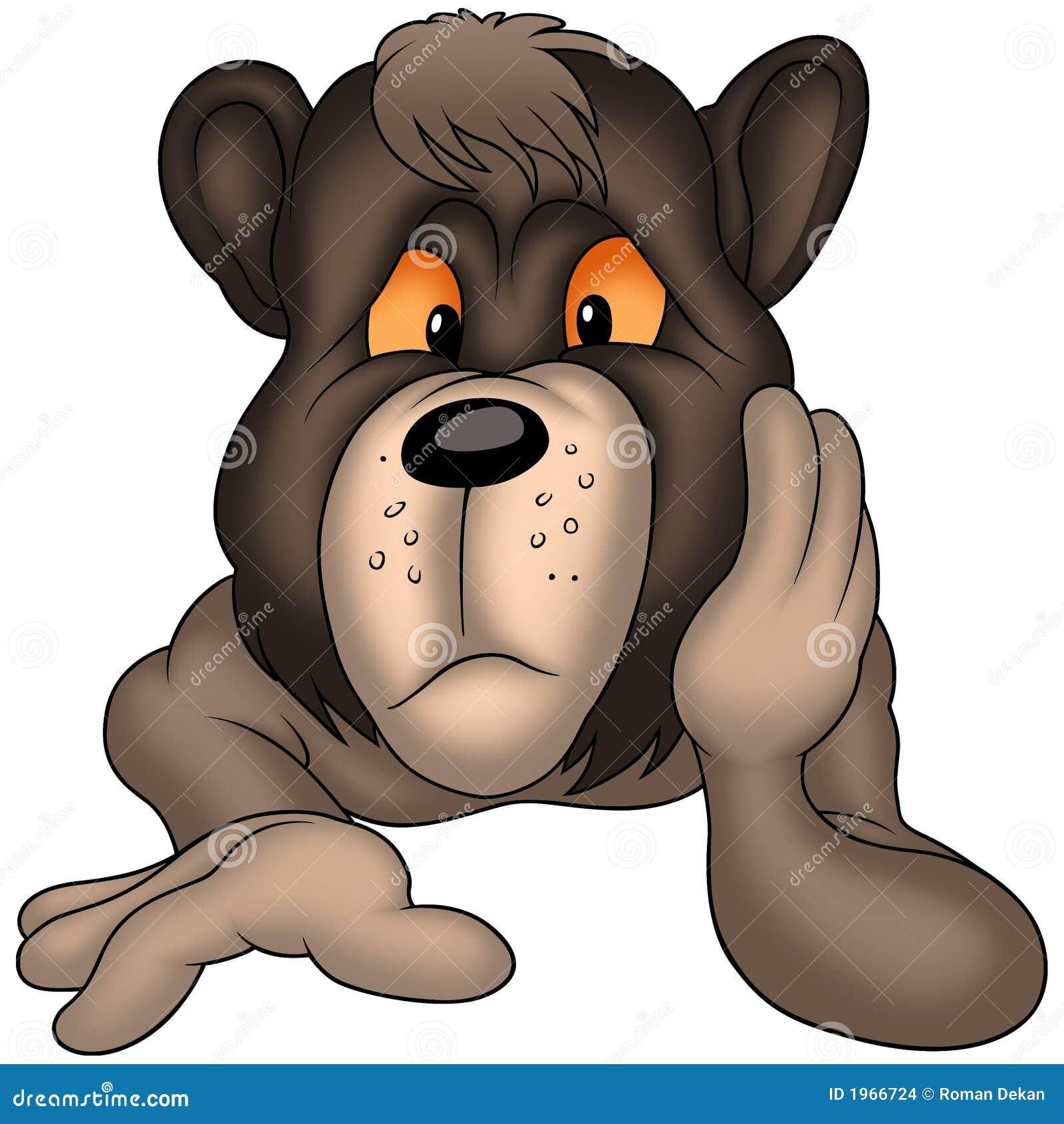 Fundersam björn