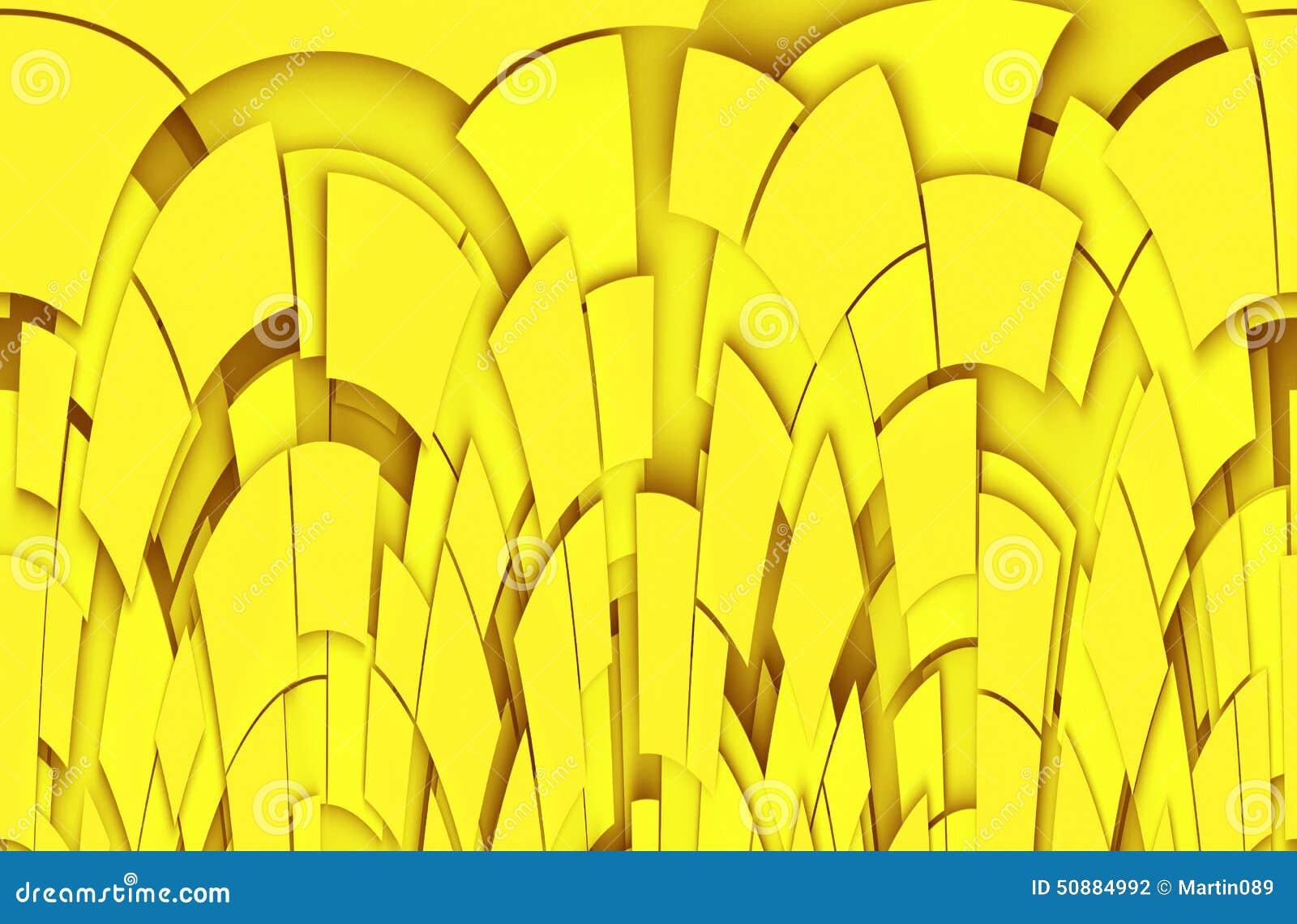 Fundo abstrato amarelo