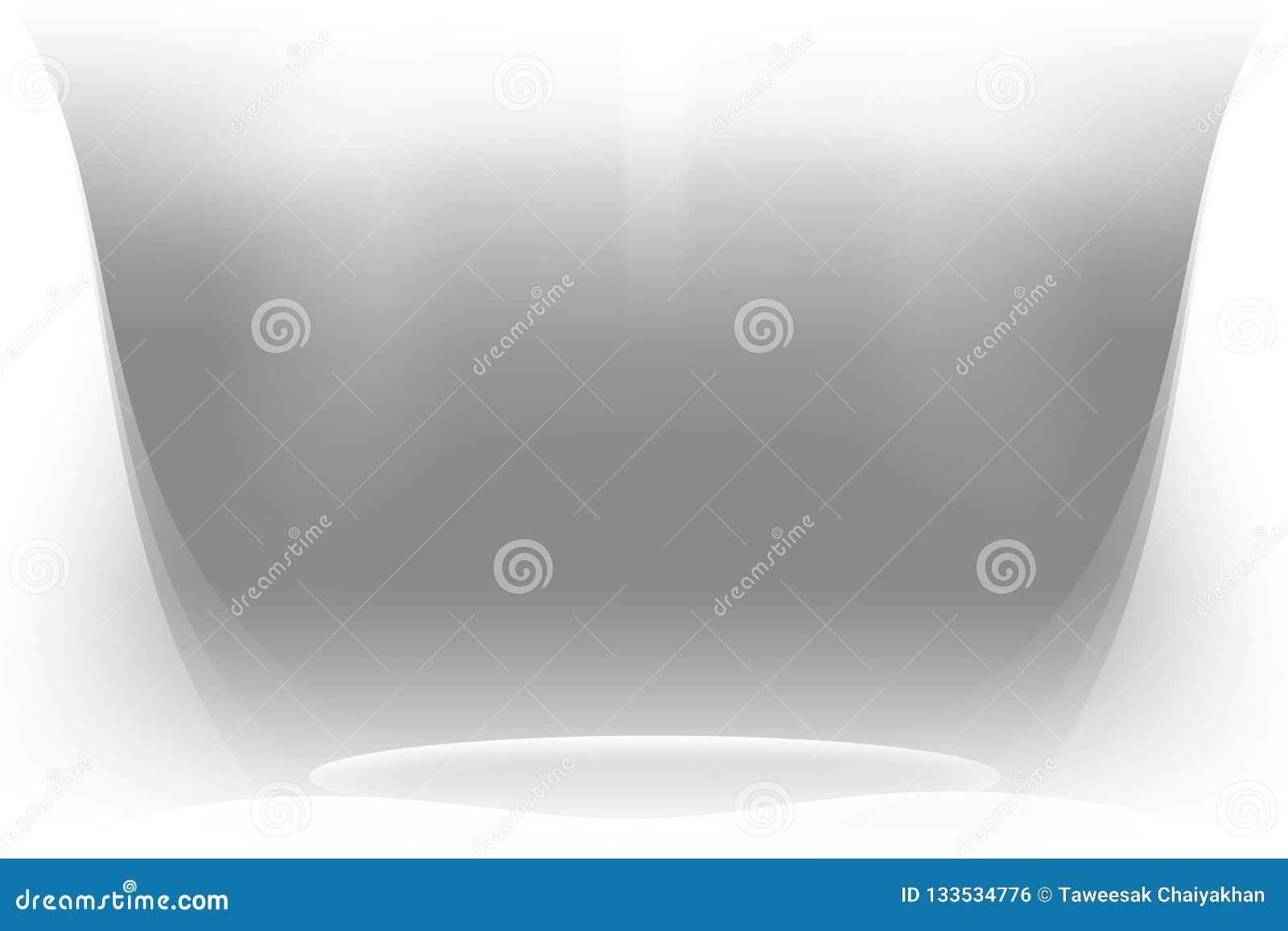 Fundo abstrato branco, shinning claro