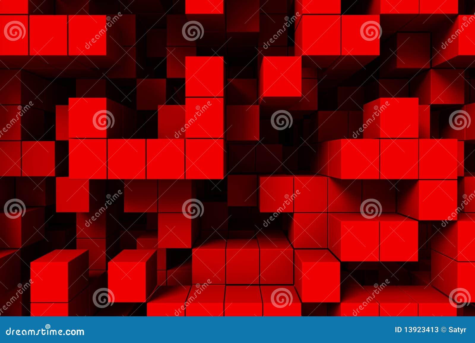 Fundo abstrato - cubos