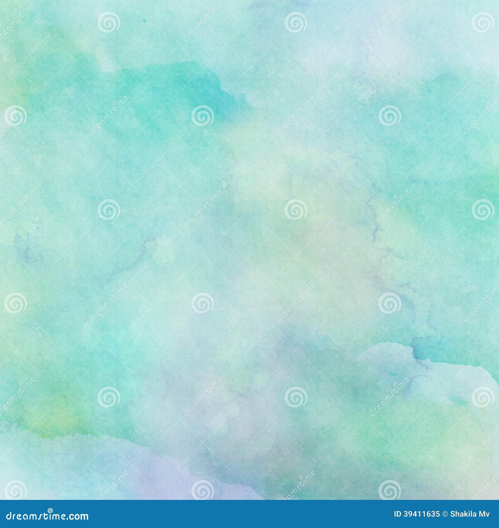 Fundo abstrato da aquarela