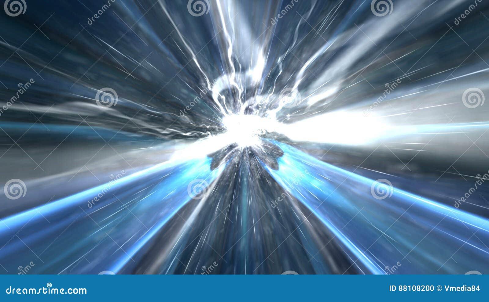 Fundo abstrato da tecnologia, computação gráfica, cabo do Cyberspace