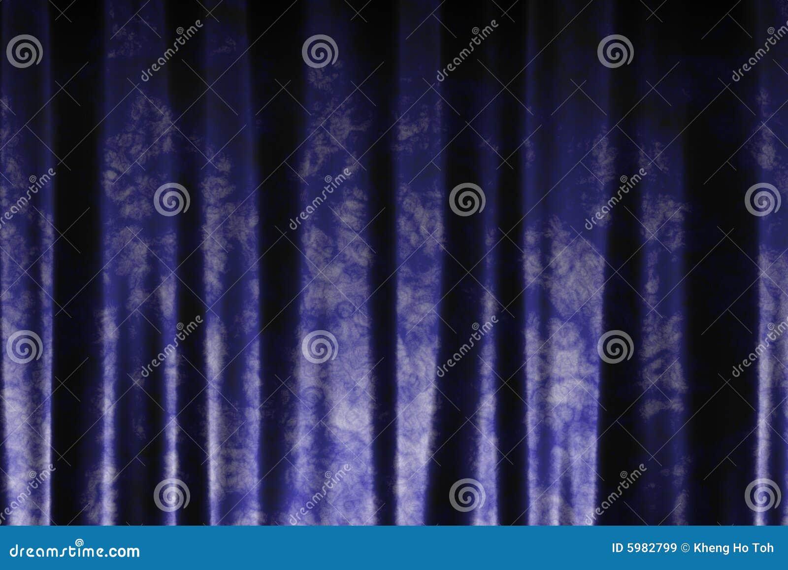 Fundo abstrato das cortinas de seda
