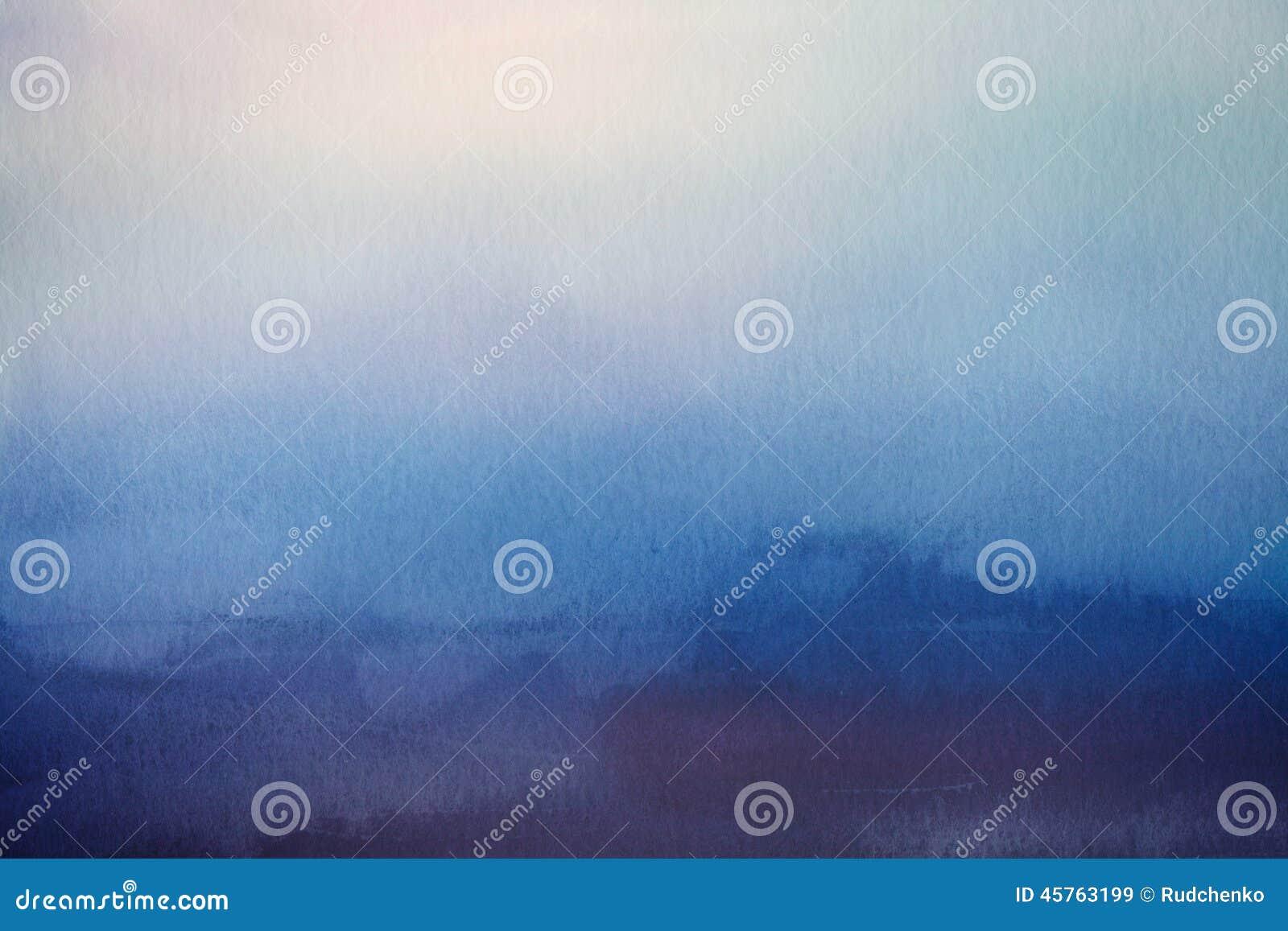 Fundo abstrato do borrão Folha de prova de papel da aquarela