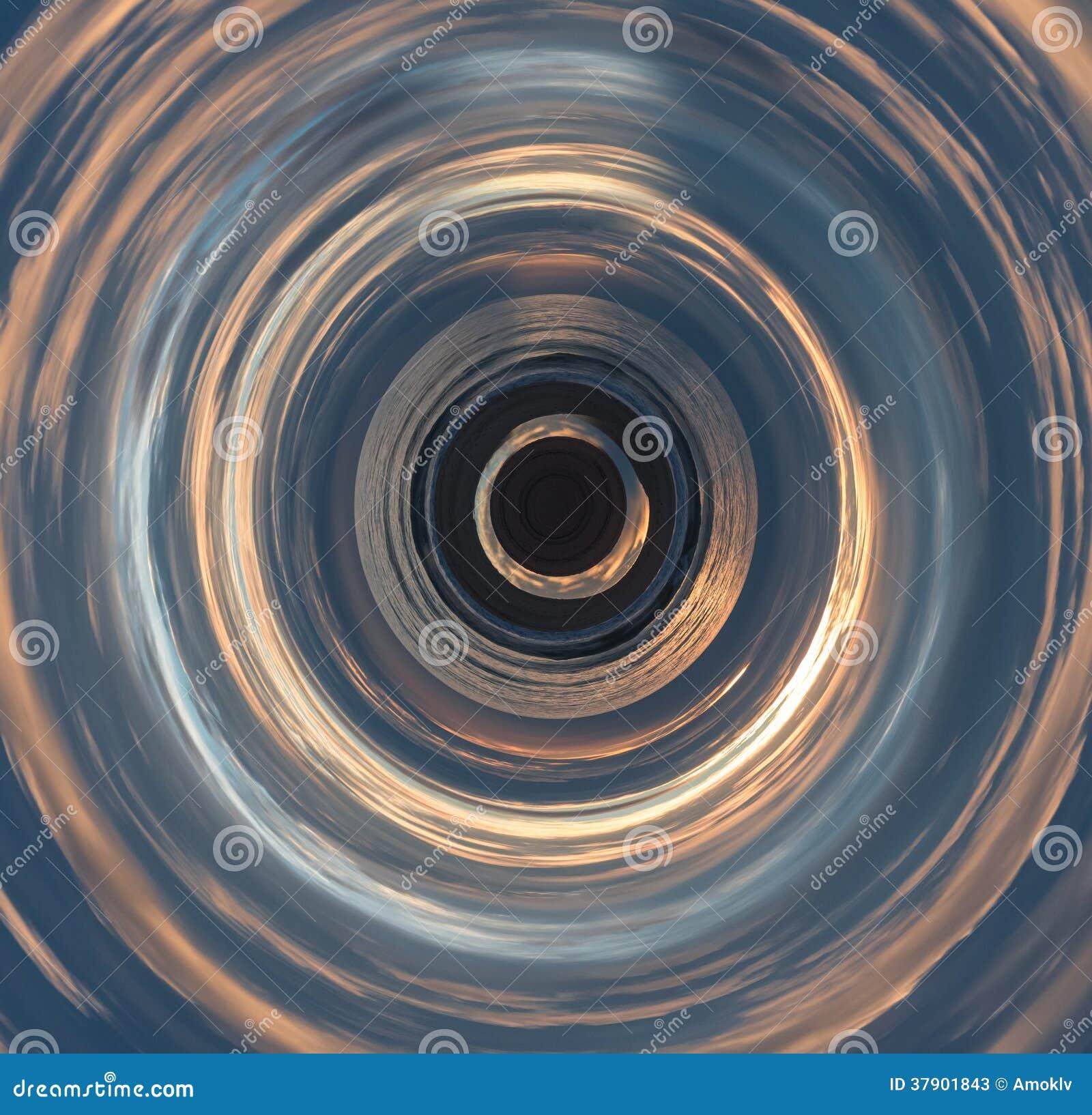 Fundo abstrato do círculo