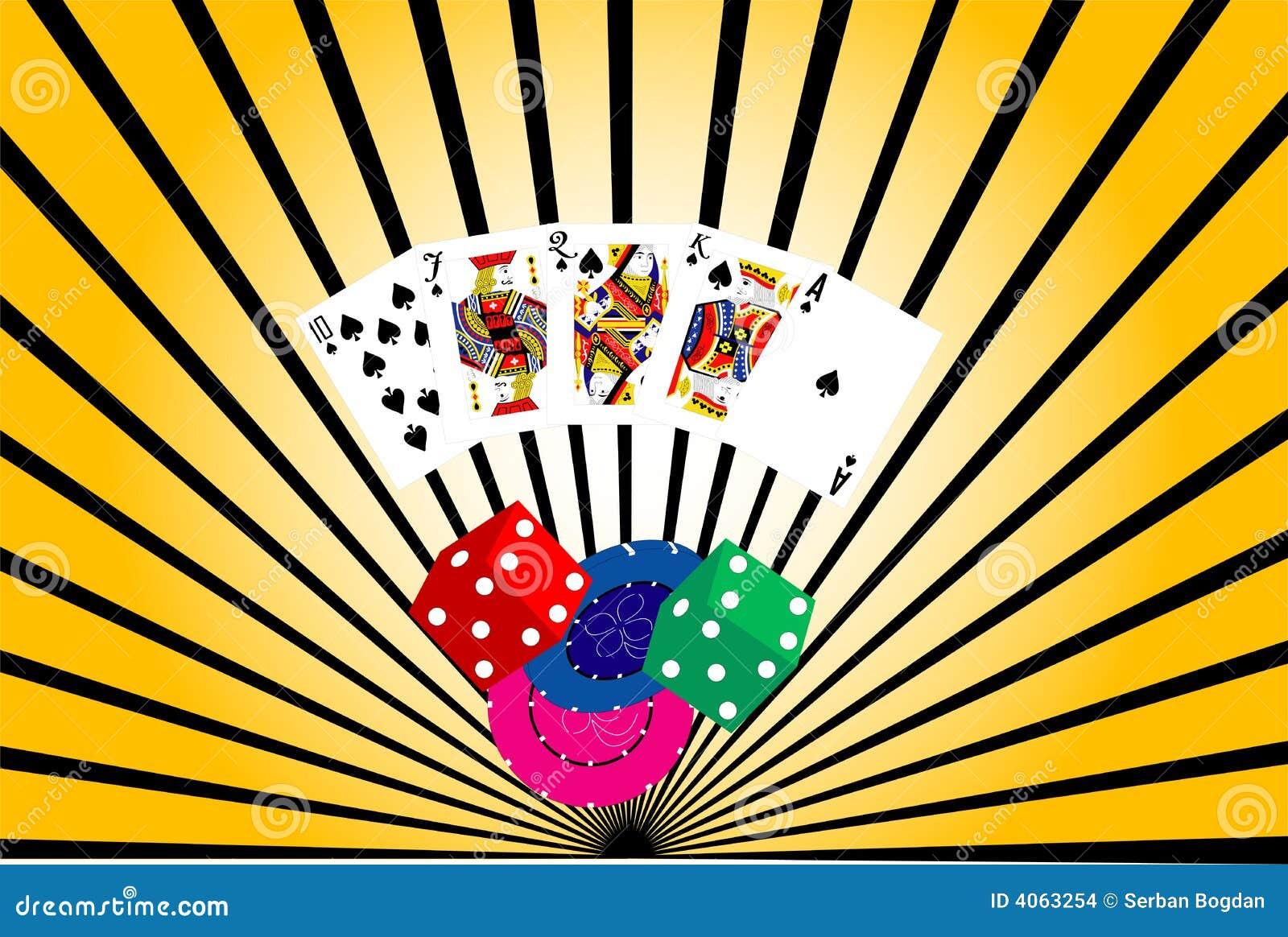 Fundo abstrato do casino