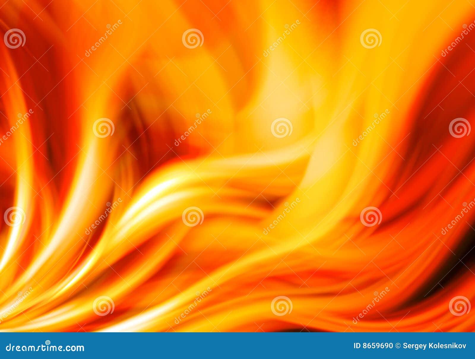 Fundo abstrato do incêndio