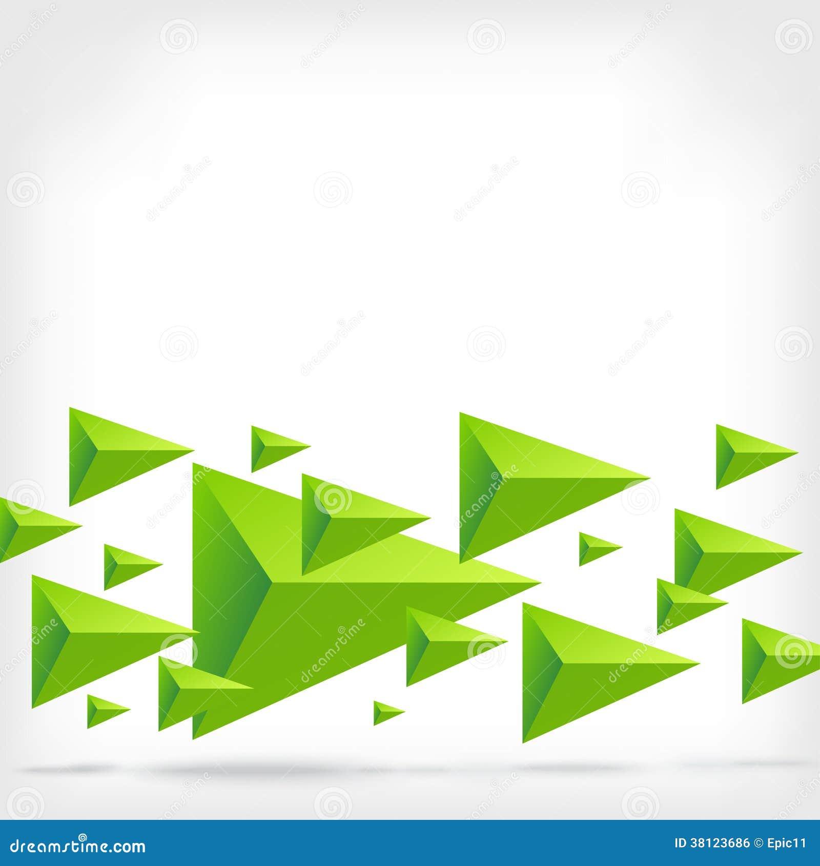 Fundo abstrato do vetor do triângulo