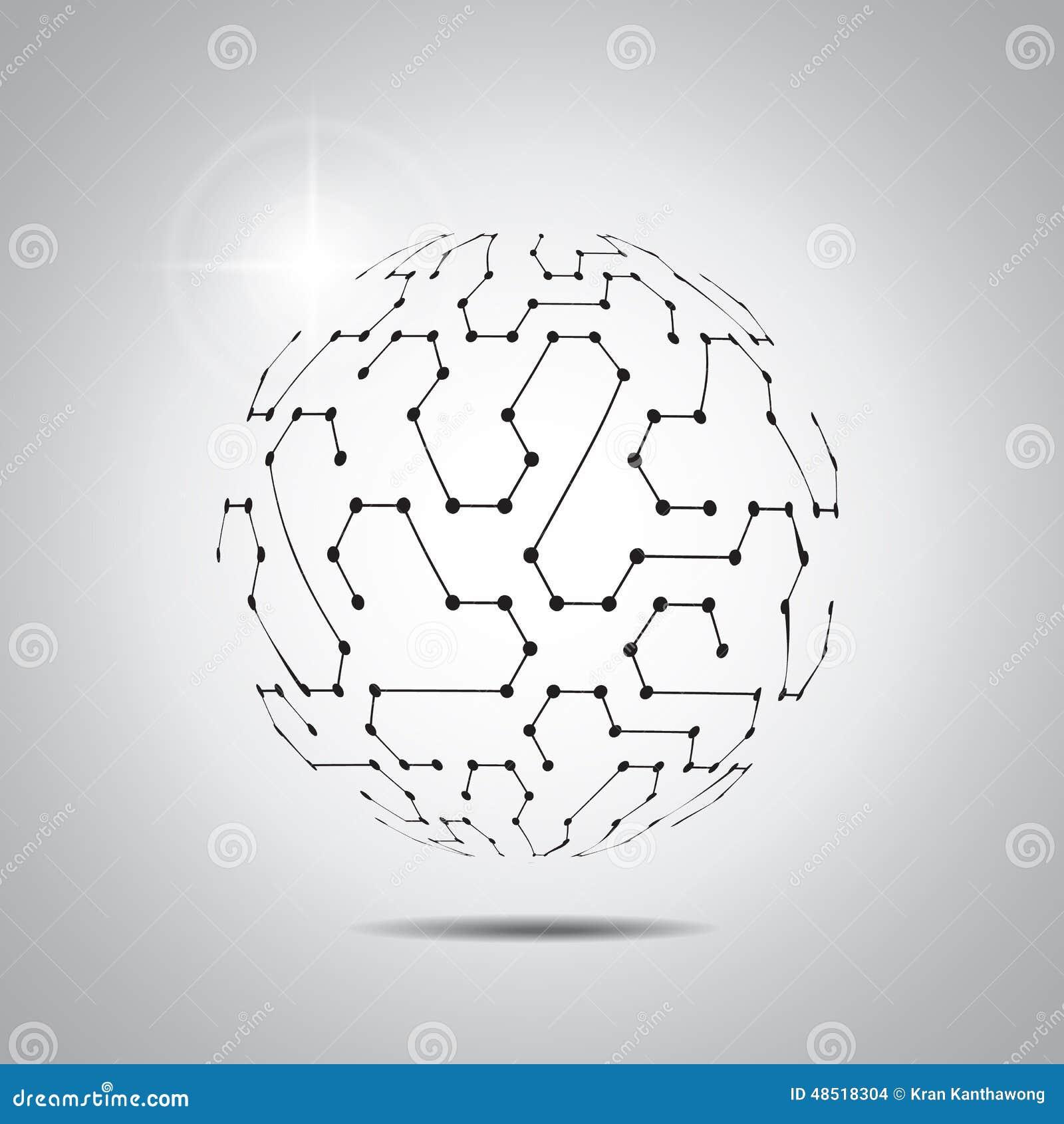 Fundo abstrato do vetor Estilo futurista da tecnologia Fundo elegante para apresentações da tecnologia do negócio