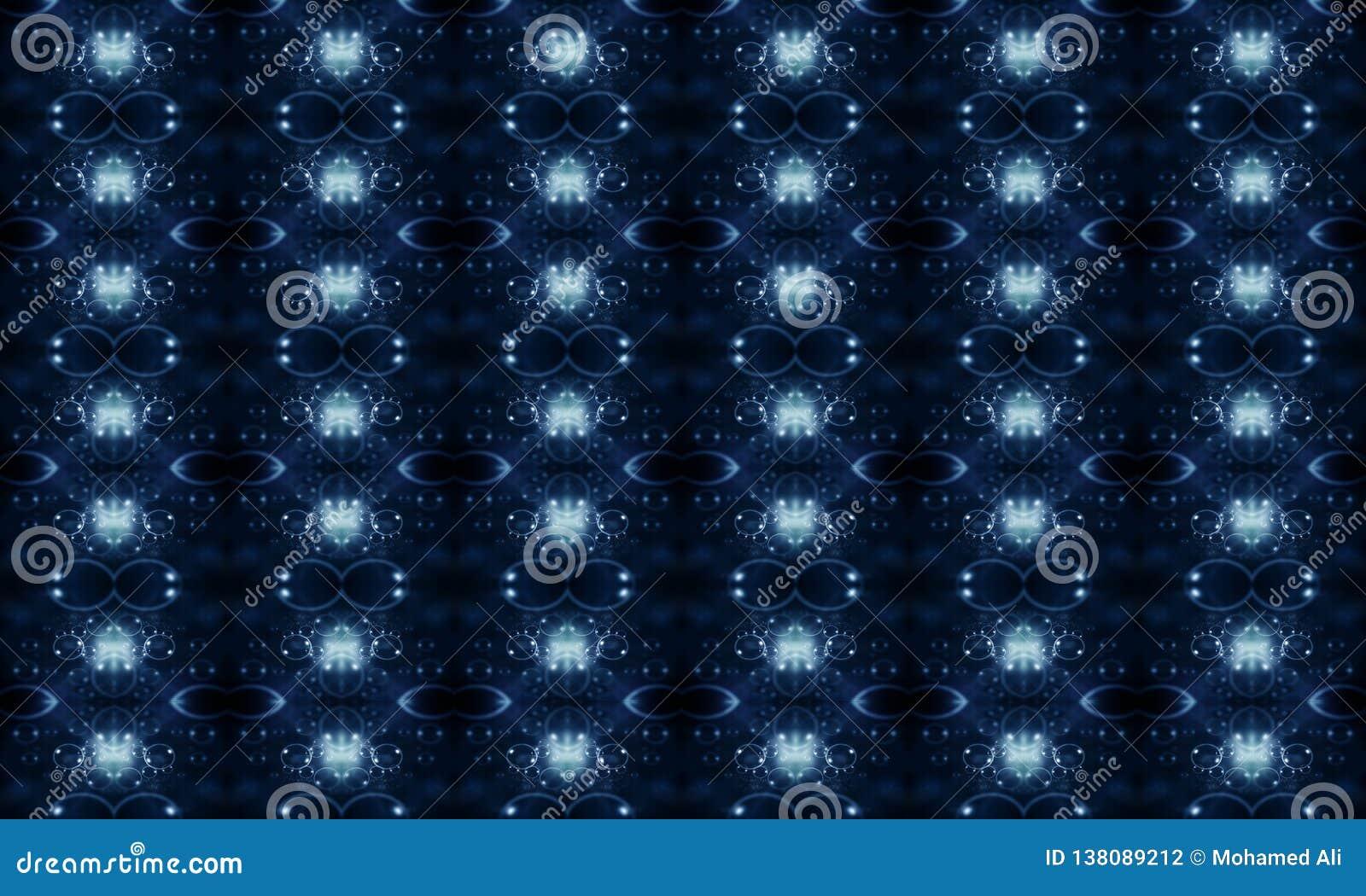 Fundo abstrato energético brilhante moderno colorido original gerado por computador dos testes padrões dos fractals 3d