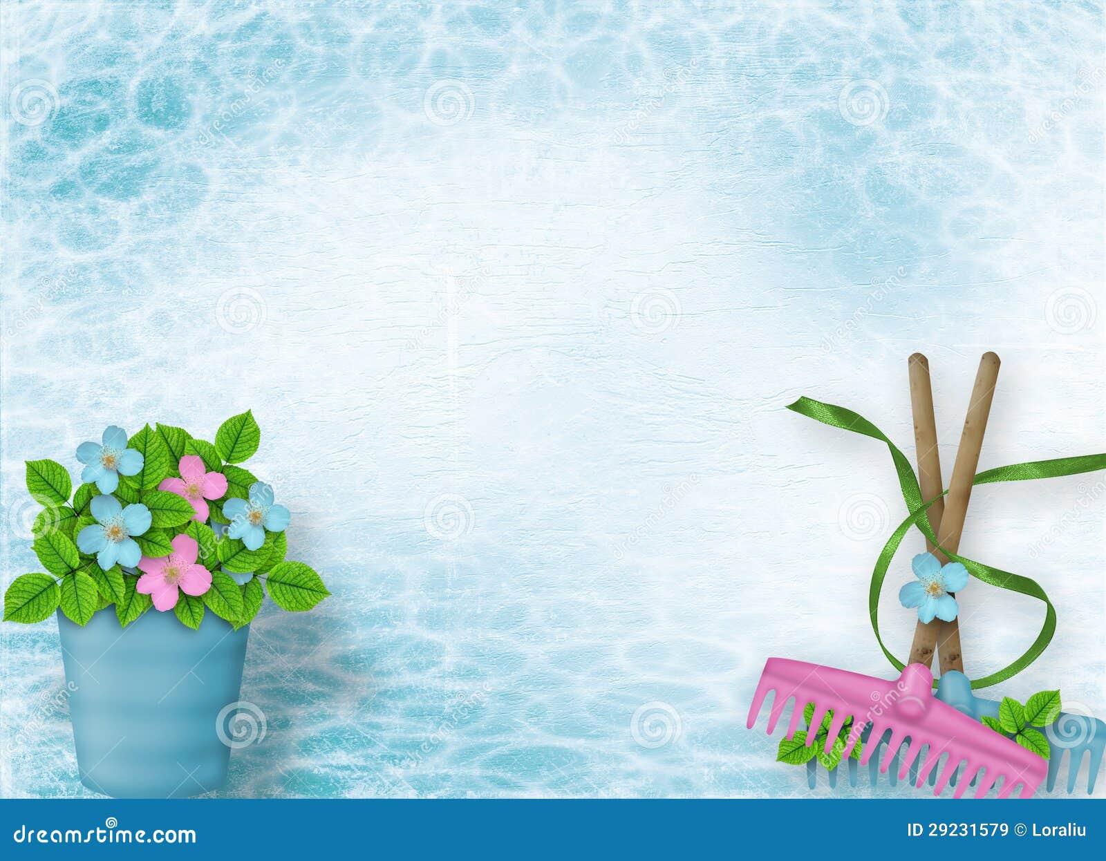 Download Fundo Abstrato Para O Anúncio Com Cubeta Floral Ilustração Stock - Ilustração de invitation, projeto: 29231579