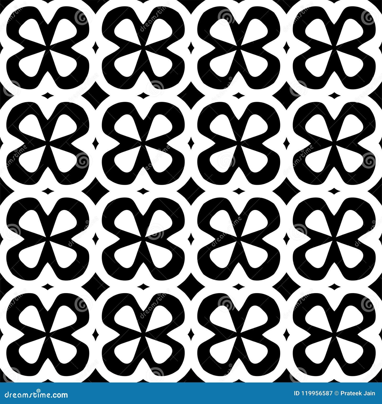 Fundo abstrato preto e branco