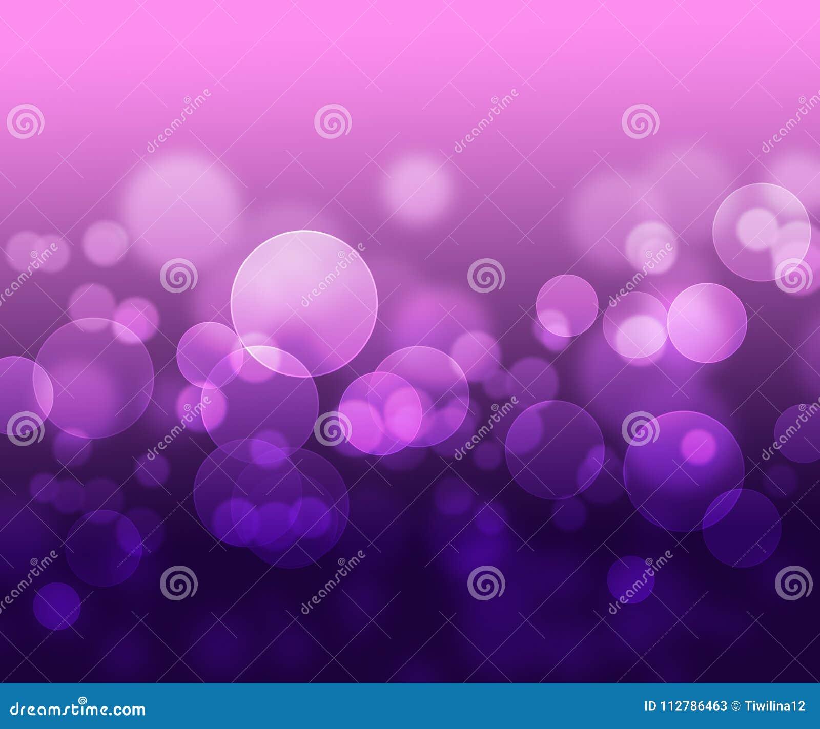 Fundo abstrato roxo cor-de-rosa com bokeh claro
