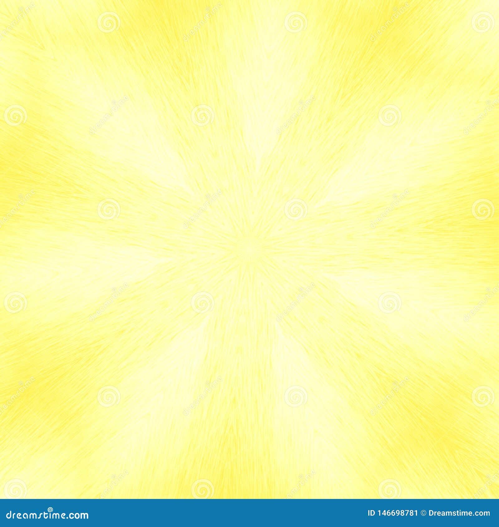 Fundo amarelo abstrato, teste padrão do estilo do caleidoscópio
