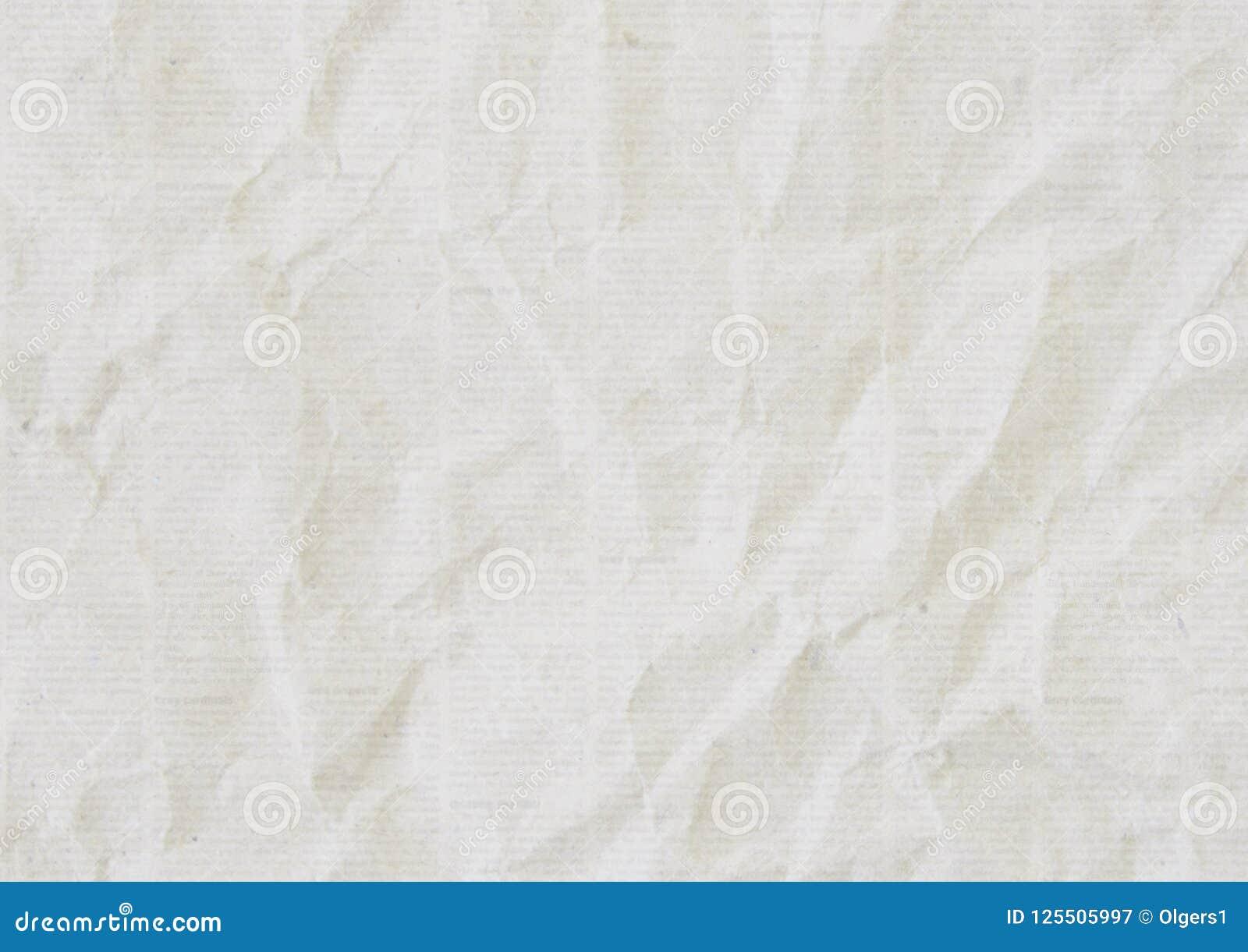 Fundo amarrotado velho da textura do jornal