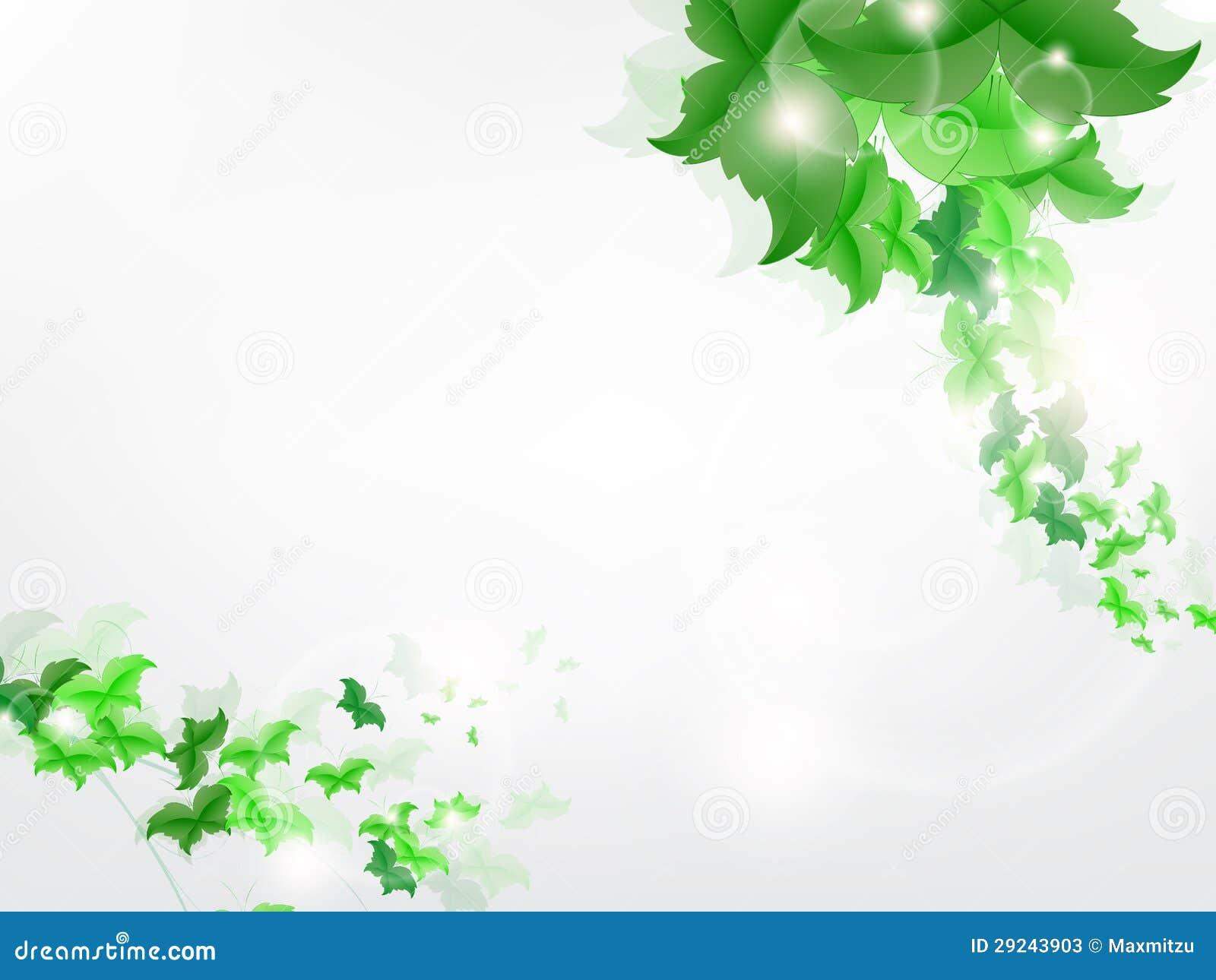 Download Fundo Ambiental Com As Borboletas Verdes Da Folha Ilustração do Vetor - Ilustração de sumário, conceptual: 29243903