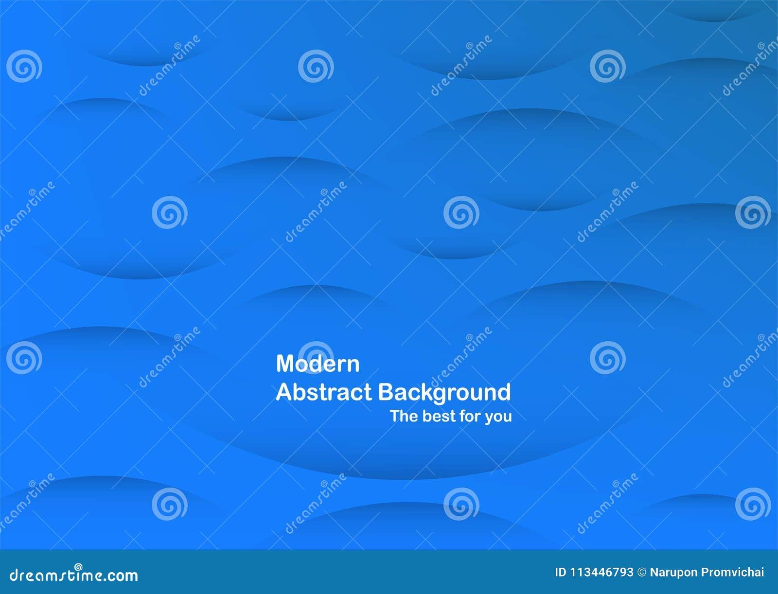 Fundo azul abstrato da curva com espaço da cópia para o texto branco M