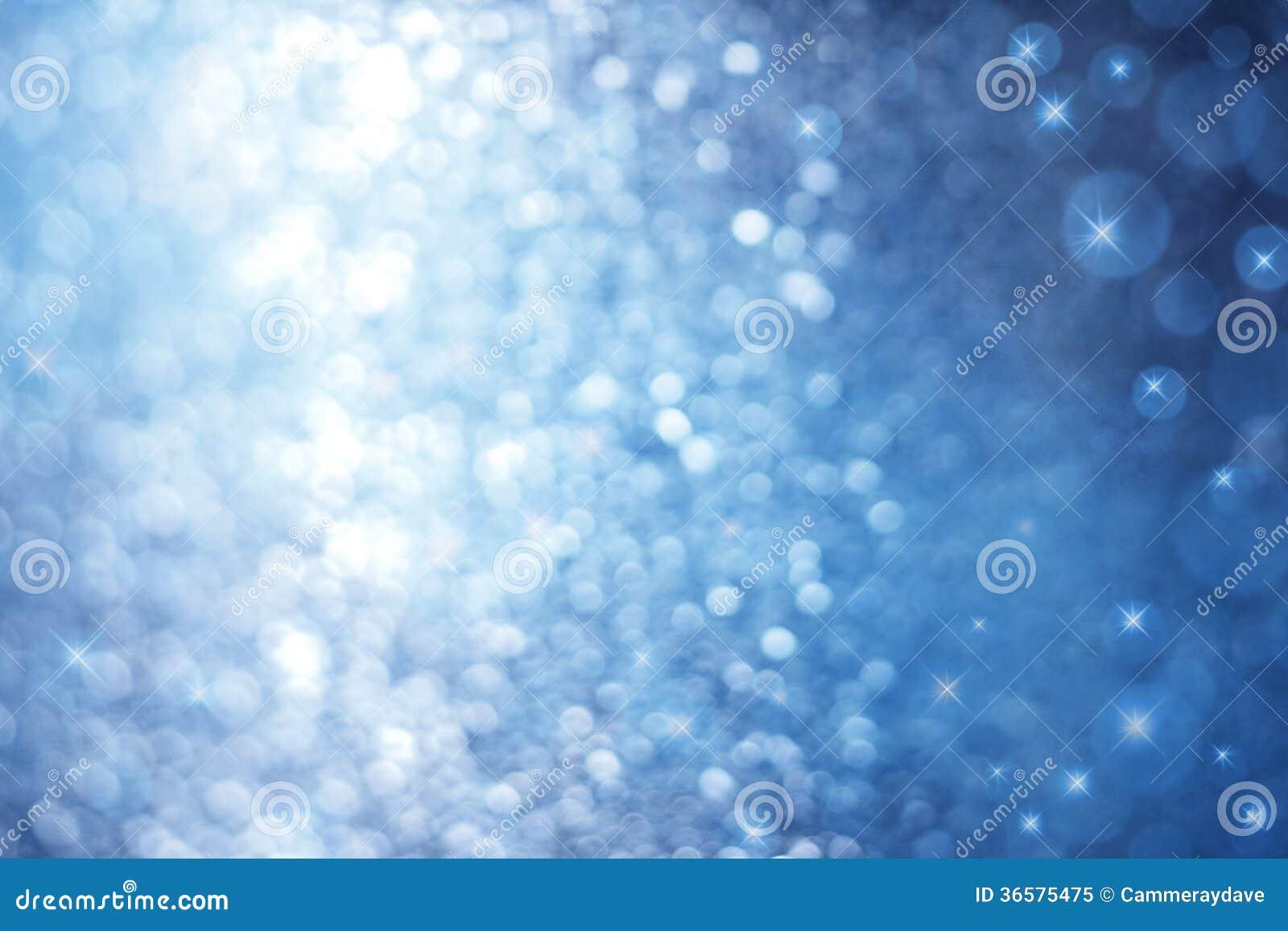 Fundo azul abstrato da faísca