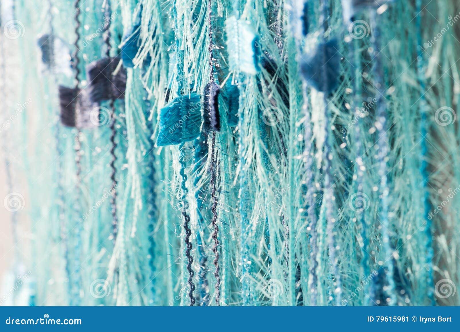 Fundo azul abstrato das linhas
