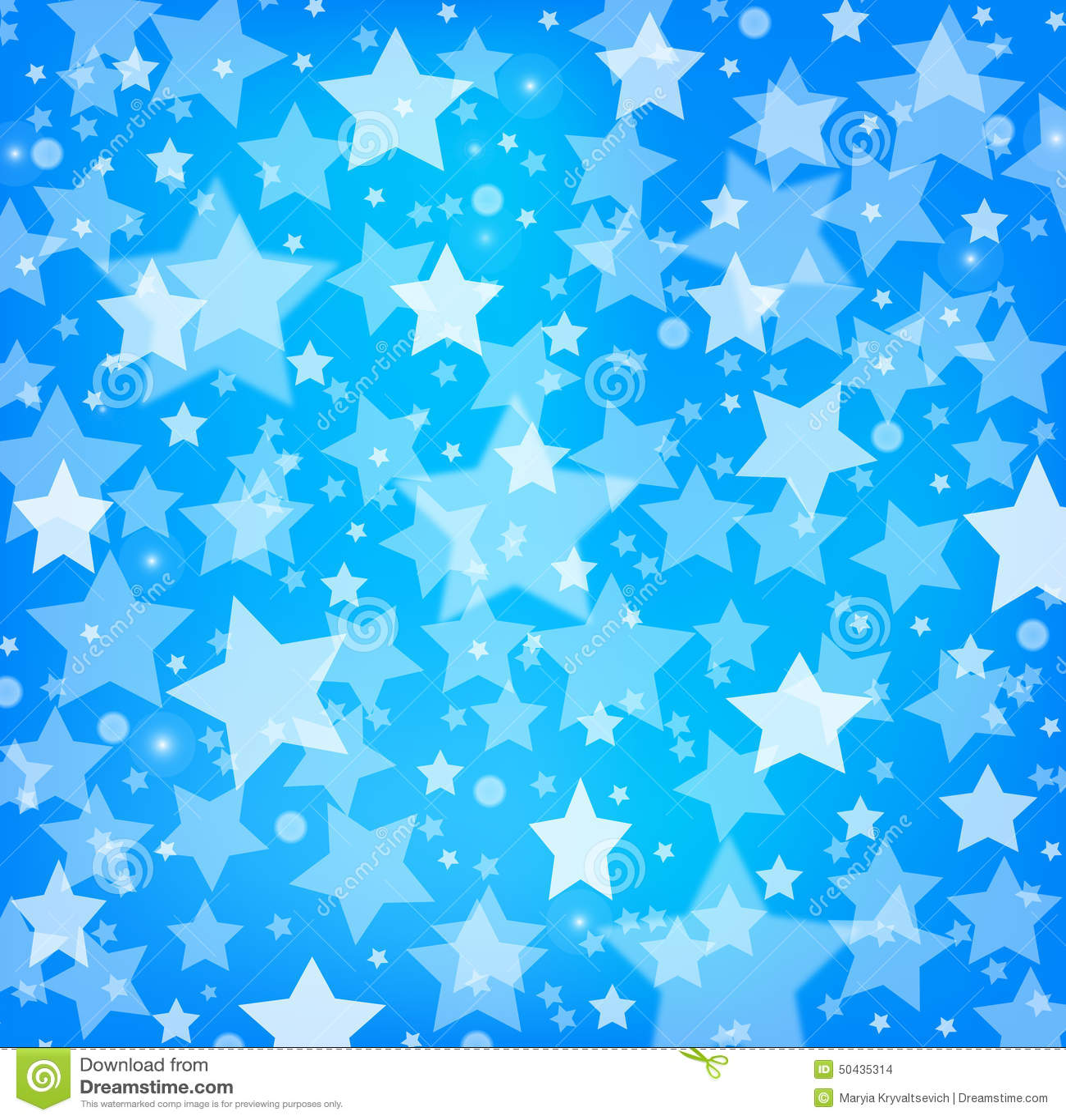 Baby blue star wallpaper