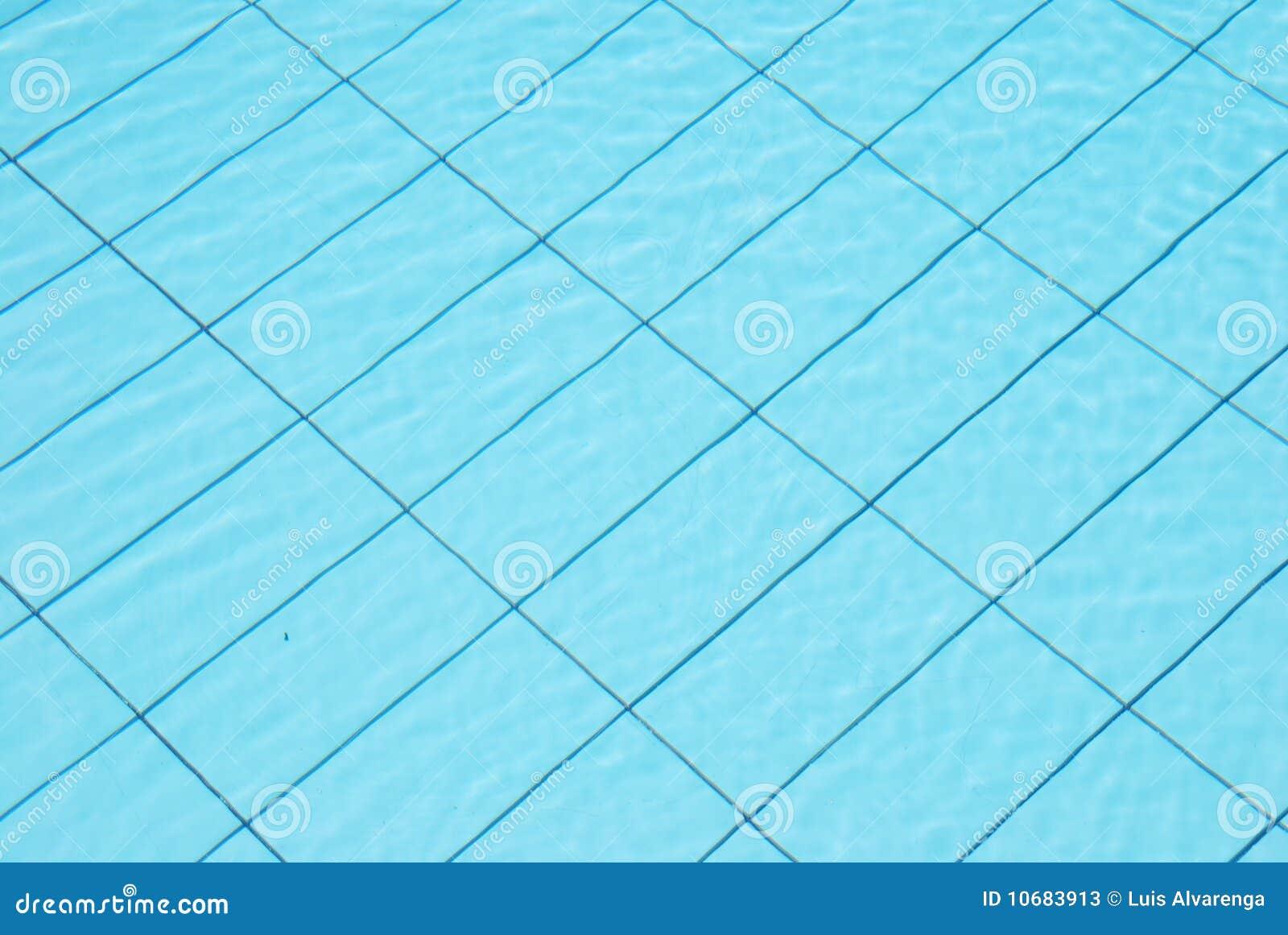 Fundo azul da água da associação
