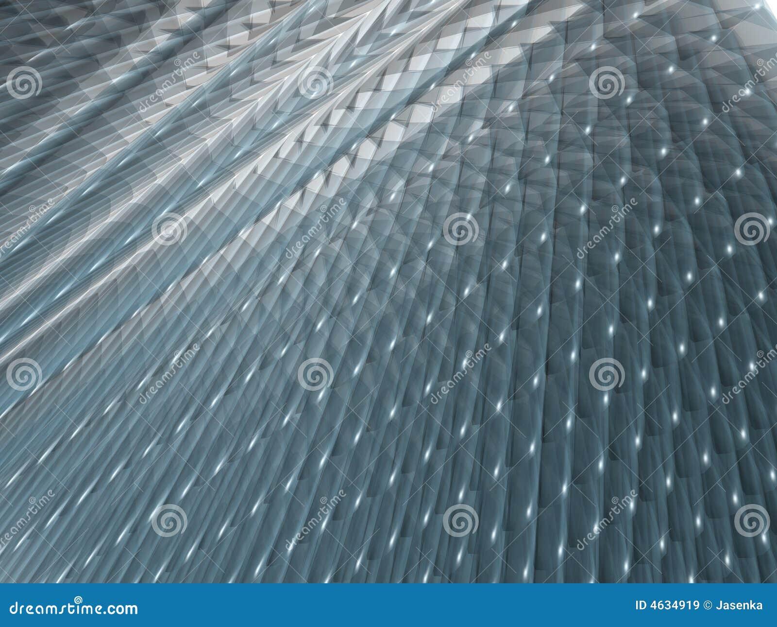 Fundo azul e de prata abstrato