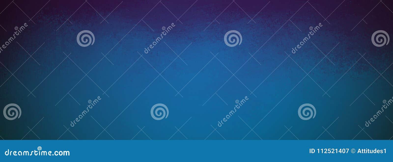 Fundo azul elegante com cantos e textura textured pretos do grunge do vintage, Web site simples elegante ou projeto do contexto d