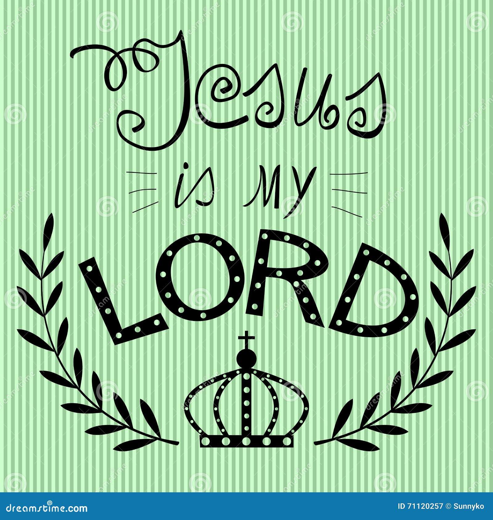 Fundo bíblico escrito da mão de Jesus meu senhor