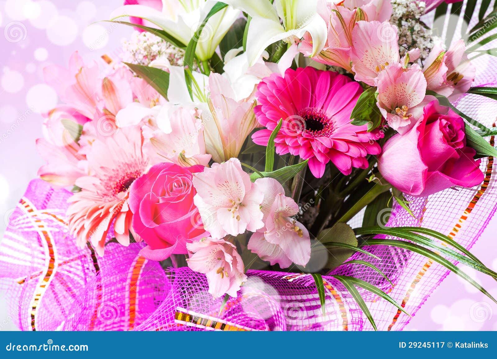 Download Fundo bonito com flores imagem de stock. Imagem de cartão - 29245117