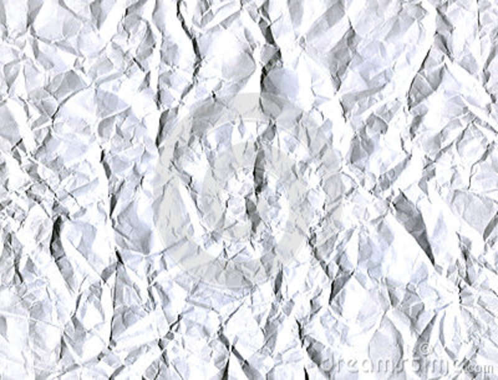 Fundo branco abstrato da folha amarrotada do Livro Branco